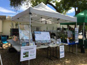 Fresno Audubon's Earth Day booth, April 2019